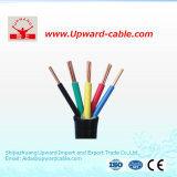 Câble souple de PVC Insulated&Sheathed de 6 faisceaux