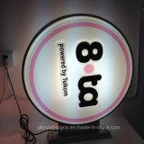 Publicidad Vacío formado acrílico caja de luz LED