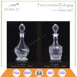 800ml стеклянные настойки бутылка, бутылка водочки, бутылка вискиа с уплотнением пробочки
