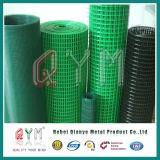 La costruzione rinforza la rete metallica saldata saldata PVC Rolls per la rete fissa