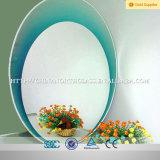Sala de banho espelho prateado, espelho de alumínio