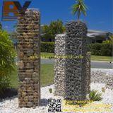 حديقة جدار حجارة قفص [غبيون] سلة