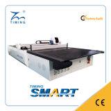 Máquina automática de corte de tecido multi-camada para cortar couro em tecido