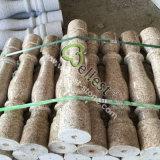 현관과 계단을%s 최신 판매 자연적인 돌 노란 화강암 Baluster