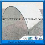 Vidro temperado curvado curvado liso do grande tamanho padrão do En Igcc