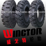 Pneus industriels, pneu solide de chariot élévateur, pneu de 6.00-9 chariots élévateurs