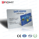 De nieuwe Techniek Goedgekeurde Gift van de Kaart van pvc RFID Blokkerende