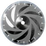 La roue en pierre de Cutting&Grinding de diamant de marbre de granit d'outil de diamant scie la lame