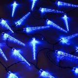 El carámbano impermeable enciende luces de la cadena de la Navidad de 10LEDs LED