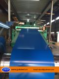 Bobina de acero galvanizada pintada /PPGI para el material para techos