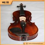 Высокопоставленное мастерское сбывание Китай скрипки с смычком скрипки лягушки чёрного дерева