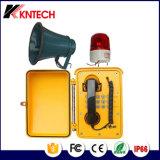 Koontech 방수 비상 전화 옥외 산업 전화 Knsp-08 외침 시스템
