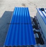 Colorir telha de telhado corrugada MGO revestida com a anti película da oxidação