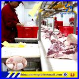 Chaîne de montage d'abattoir d'abattage de porc/machines d'équipement pour des côtelettes de tranche de bifteck de porc