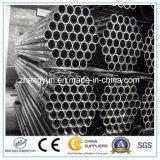 Medio galvanizado en caliente de tubos de acero para la estructura