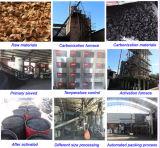 Carbón activado granular del shell del coco de la alta calidad
