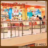 Csi ha certificato l'inferriata di vetro dell'acciaio inossidabile 304 per il centro commerciale (SJ-H014)