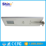 Luz de rua solar elevada do diodo emissor de luz do lúmen 80W