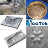 Прессформа металла CNC гравировального станка Akm6060 CNC прессформы металла делая машину