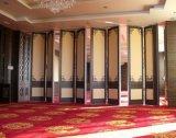 Verdelers die van de Zaal van de Harmonika van de Absorptie van het Aluminium van de Fabrikant van China de Binnenlandse Correcte Muur vouwen
