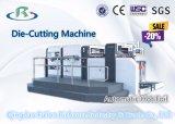 Máquina acanalada semiautomática del rectángulo del cartón