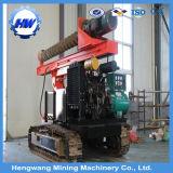 Hohe Leistungsfähigkeits-Stapel-Basis-Maschinerie-hydraulischer Stapel-Hammer-Leitschiene-Stapel-Fahrer