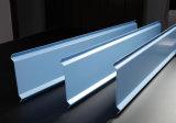 Matériau de construction bleu, avec le niveau important d'Airness, panneaux de plafond en aluminium