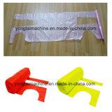 Sacchetto di plastica di rotolamento del grembiule del PE a gettare che fa la strumentazione della macchina