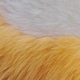 Круглый длинный шерстяной ошейник подушки сиденья подушки Цветочная форма