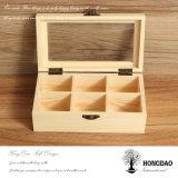 Hongdao 도매 나무로 되는 나비 넥타이 저장 Box_D