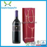 El regalo de encargo del vino del papel hecho a mano empaqueta al por mayor