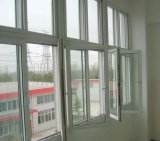 Het aangepaste Venster van het Glas van de Gordijnstof van pvc van 60 Reeksen voor Balcany (pcw-022)