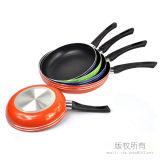 Vaschetta di frittura di alluminio della vaschetta di frittura nessuna padella della vaschetta di frittura in padella della frittura del bastone