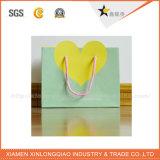 Bolsa de papel de papel de la maneta del algodón del embalaje de la alta calidad