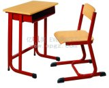 Single ajustável Table e Chair para School Student