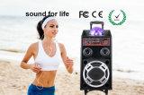 Nuovo altoparlante senza fili di karaoke di WiFi Bluetooth DJ con indicatore luminoso