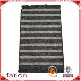 現代編まれた綿の敷物のドア・マット領域敷物1.6 ' x2.6