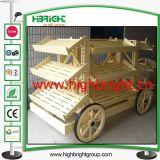 Шкаф хлебопекарни конструкции тележки фуры супермаркета деревянный