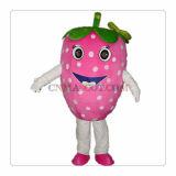Traje bonito do partido da fruta do traje da mascote da morango