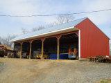 Полуфабрикат светлое здание оборудования фермы стальной структуры (KXD-100)