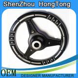 Черное пластичное рулевое колесо для автомобиля игрушки