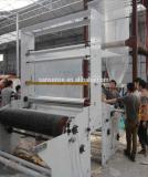 Máquina ajustada da extrusora da película plástica com a co-extrusão de duas camadas giratória