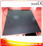 rubberVerwarmer van het Silicone van de Verwarmer van de Printer van 600*600mm 3D Zwarte