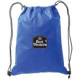 Мешок полиэфира Backpack Drawstring с Жар-Переносит печатание