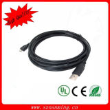 USB 2.0 Sync Data 5pin Micro USB Cable에 Male