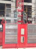 L'élévateur de construction avec la cage simple a offert par Hstowercrane