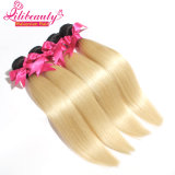 O cabelo reto humano Ombre coloriu a onda do cabelo do Virgin de dois tons