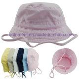 옥외 폴리에스테 Microfiber Breathable Fabrir 스포츠 물통 모자 (TMBH0783)