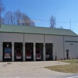 Het prefab Metaal wierp Garage met Uitstekende kwaliteit af