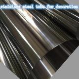 tube de l'acier inoxydable 304/304L pour la décoration